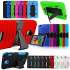 "For 7"" Tablet Heavy Duty Combo Shockproof Firm Box Defender Build In Stand Case"
