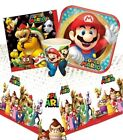 SUPER MARIO Party Pack {Tablecover/Cups/Plates/Napkins} (Birthday/Run/Bros)