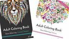 Adult Colouring Book Stress Relief Animals Patterns Design