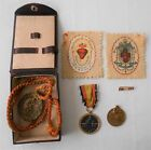 SPAIN SPANISH CIVIL WAR LOT. LEGION CONDOR. CAMPAING MEDALS, FRANCO PIN & OTHERS