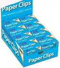 QUALITY 33MM PLAIN  PAPER CLIPS