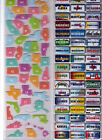 Recollections US STATES Plates &  Embellishment Stickers~3 Varieties~Georgeous!