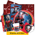 MARVEL ANT MAN Birthday Party Range (AVENGERS) Tableware Balloons & Decorations