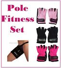 GoGrip Pole Dance Fitness Set of Gloves + Thigh Protectors Grip x