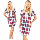 Maternity Pregnancy Breastfeeding Nursing Nightdress UK size 8 10 12 14
