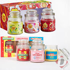 Swizzels and Chupa Chups Glass Jar Candle - Set of 3 Scented Candles in Gift Box