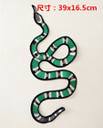 Snake Embroidery sew Applique patches clothing accessory jacket sweater jeans