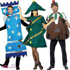 ADULT MENS WOMENS CHRISTMAS CRACKER PUDDING TREE FANCY DRESS COSTUME XMAS OUTFIT