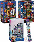 Disney Frozen, Avengers and Spiderman Children's Christmas Crackers with Gifts