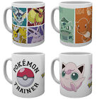 Official POKEMON Ceramic MUG 10oz (& Gift Box) Choice Of 4 Designs (Xmas/gift)