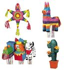 Classic PINATA Themes - Birthday Party Fun (Burro/Mexican/Cactus/Sombero/Tiki)