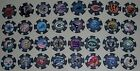 Complete Set All 32 NFL Team Logo Decal 11.5G Gram Clay Composite Poker Chips