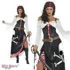 FANCY DRESS COSTUME # LADIES SULTRY SWASHBUCKLER CARIBBEAN PIRATE SIZE 8-18
