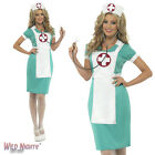 FANCY DRESS COSTUME # LADIES DOCTOR ER HOSPITAL SCRUB NURSE SIZE 8-18
