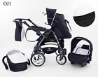 Junior Twist pram pushchair Travel System 3in1 from Baby Merc ALL IN ONE New