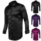 Clearance~Mens Long Sleeve Formal Causal Shirt Dress Shirts T-Shirt Tops Outwear