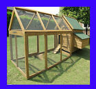 large chicken coop