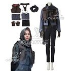 New Rogue One A Star Wars Story Jyn Erso Sergeant Cosplay Costume Vest Comic Con
