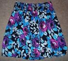 Delia*s Skirt Tag Size Large Pink Blue Waist 24,25,26,27,8,29,30,31,32,33,34