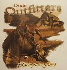 DIXIE OUTFITTERS HORSES RAISING THE FINEST HOODED SWEATSHIRT #6849 HOODIE