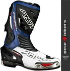 RST Tractech EVO Blue Sports Race Boot Motorcycle Boots CE APPROVED