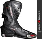 RST Tractech EVO Black Sports Race Boot Motorcycle Boots CE APPROVED