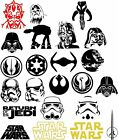 1PC Star Wars Logo Vinyl Decal Sticker Car Window Wall Bumper Decor Darth Vader $29.99 USD on eBay