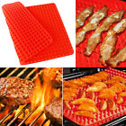 1/2X Pyramid Pan Fat Reducing Non Stick Silicone Cooking Mat Oven Baking Tray