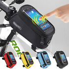 Cycling Bicycle Bike Frame Holder Pannier Mobile Phone Case Bag Pouch For IPhone