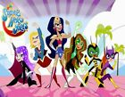SUPERHERO GIRLS PARTY ! Edible Cake Topper Frosting Sheet  - quarter & half size