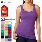 NEW Next Level Women's Spandex Jersey Tank Top M-3533