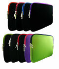 "Soft Neoprene Sleeve Zip Case Cover for 15-16"" Inch Fujitsu"