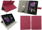 Universal Multi Angle Wallet Case Cover Folio for 7 / 8 inch Tablet with Stylus