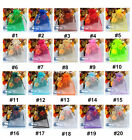 ORGANZA WEDDING FAVOUR CANDY XMAS GIFT BAGS JEWELRY POUCHES 2 SIZES 18 COLOURS