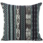 BLACK GREY DHURRIE DECORATIVE THROW PILLOW CUSHION COVER Indian Boho Decor