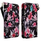 For HTC Desire 526 Wallet Case PU Leather Pouch Design Cover (Ship from US) New