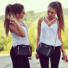 Women Fashion Vest Top Sleeveless Shirts Blouse Casual Tank Tops T-Shirt