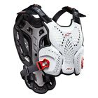 Alpinestars MX A-1 Roost Guard - Black/White Chest Motocross Offroad