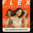 Warner's Flex Revolution Full coverage underwired bra various sizes