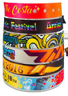 200-500 Personalised Fabric Wristbands - Your wristband/your design