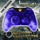Xbox One/S Clear Blue With Orange LED Rapid Fire Paddle Controller BF1-IW-GOW4