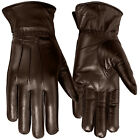 Women Winter Dress Gloves Soft Thermal Linning Geniune Leather Glove Brown