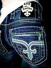 NWT New Mens Rock Revival Straight Jeans Raynon 31 32 34 36 38 40 42 Long