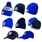 Official CHELSEA FC - HUT Strickmütze/Wollig/Mützen/Ski/Bommel (Winter/Sommer)