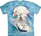 The Mountain Peace At Last Native American Eagle Indian Mens Shirt 104344