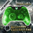 Xbox One/S Clear Green With Green LED Rapid Fire Paddle Controller BF1-IW-GOW4