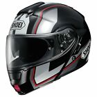 Shoei NeoTec Flip Face Motorcycle Helmet IMMINENT TC5 Black Modular Touring Comm