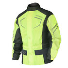 DriRider Thunderwear 2 Waterproof Over Jacket - Yellow Motorcycle Winter Tour Ro