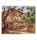 """PIERRE-AUGUSTE RENOIR """"Collette's House At Cagne"""" print various SIZES, BRAND NEW"""