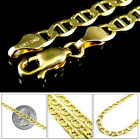 Mens Mariner 14k Yellow Gold Solid Link Bracelet 3.1 mm, 7 - 8 Inches